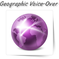 Geographic Voice-Over