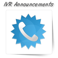 IVR Telephone Announcements