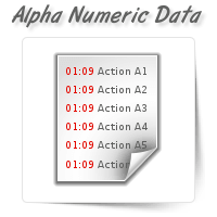 Alpha Numeric Data Entry