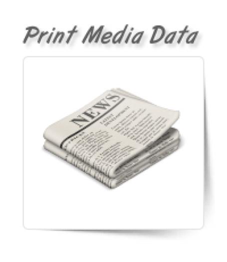 Print Media Data Entry