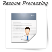 Resume Processing
