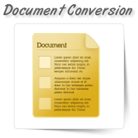 Document Conversion