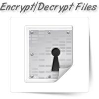 Encrypt/Decrypt Files