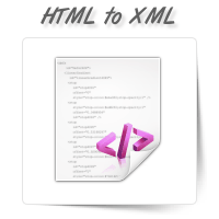 HTML to XML Conversion