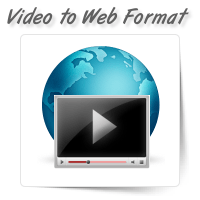 Raw Video to Web Format