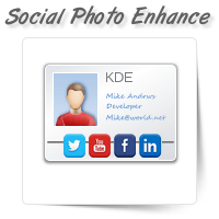 Social Network Profile Photo Enhancement