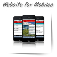 Website for Mobiles & Tablets