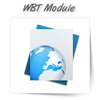 WBT - Web Based Training Module