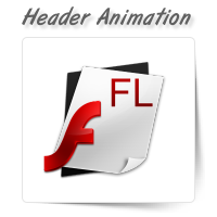 Website Header Animation