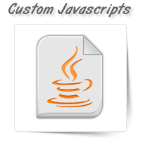 Custom Javascripts
